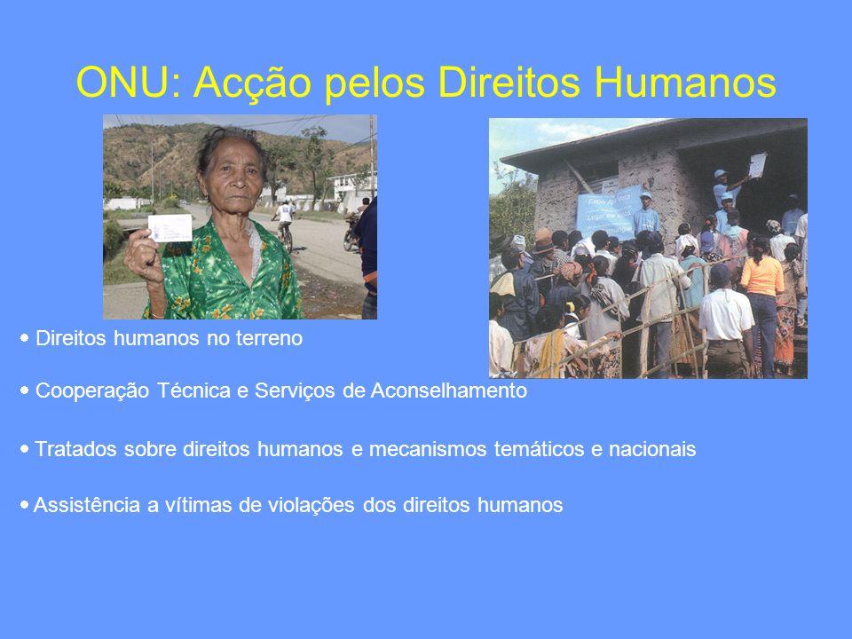 ONU: Acção pelos Direitos Humanos