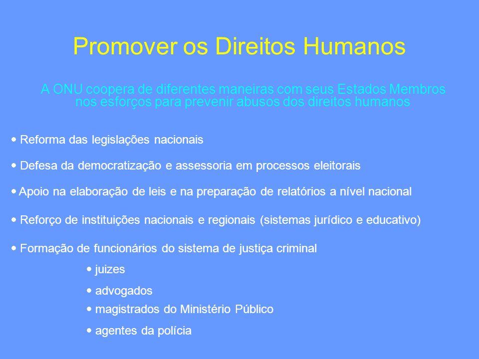 Promover os Direitos Humanos
