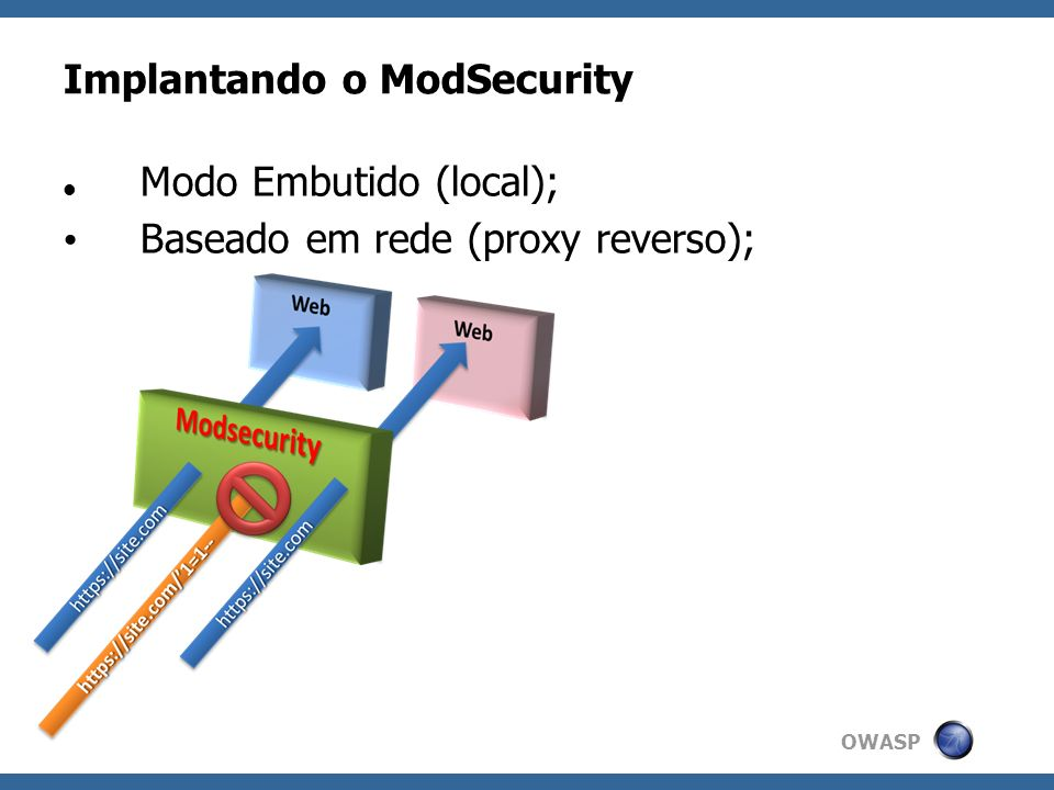 Implantando o ModSecurity
