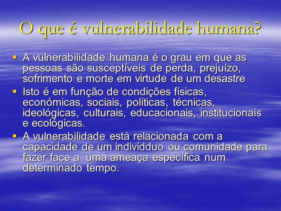 O que é vulnerabilidade humana