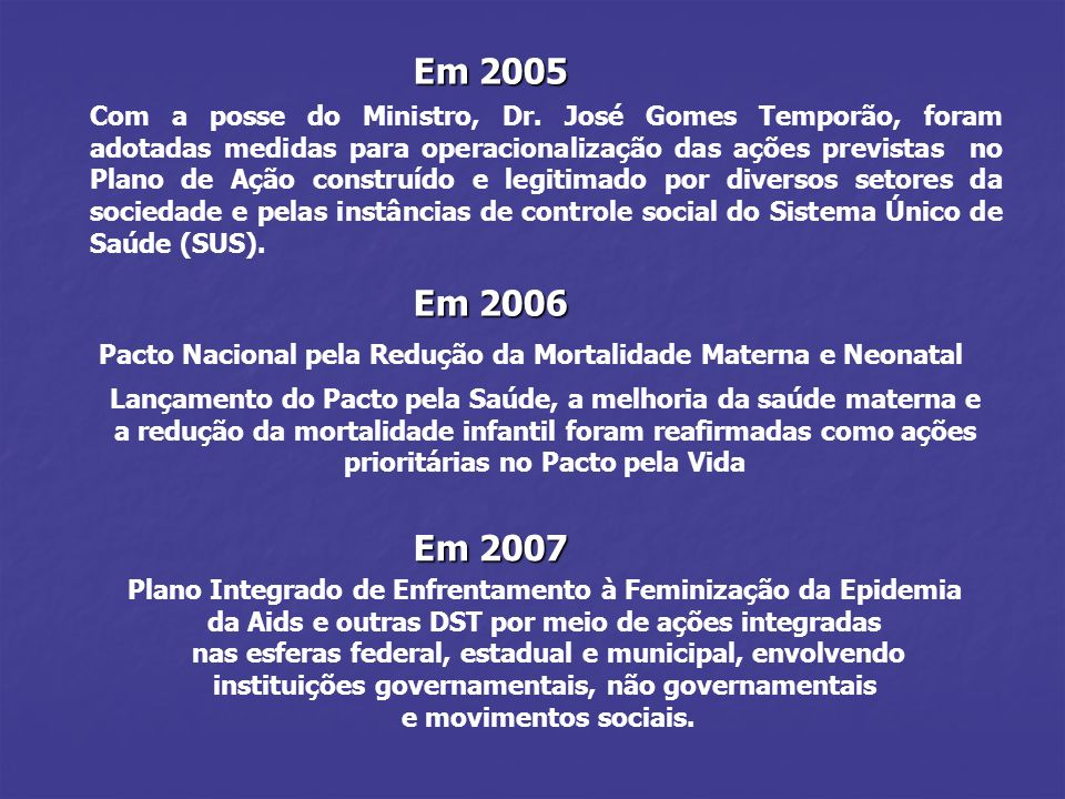 Em 2005