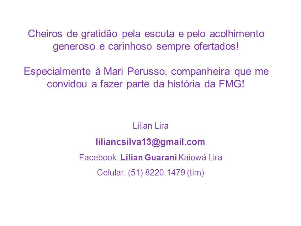 Facebook: Lilian Guarani Kaiowá Lira