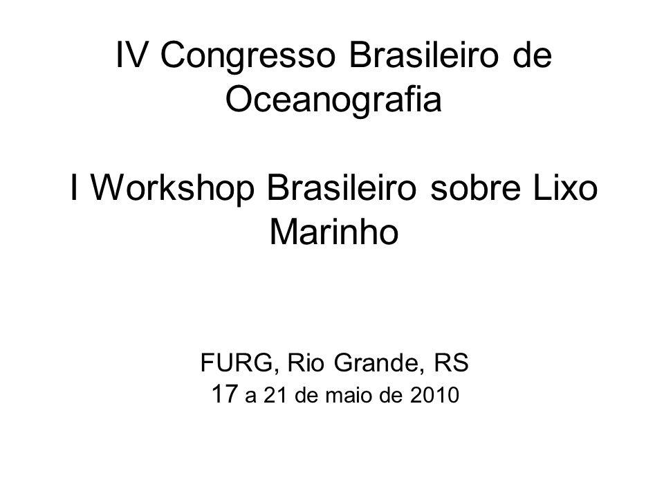 FURG, Rio Grande, RS 17 a 21 de maio de 2010