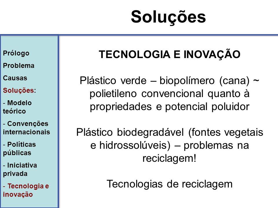 Tecnologias de reciclagem