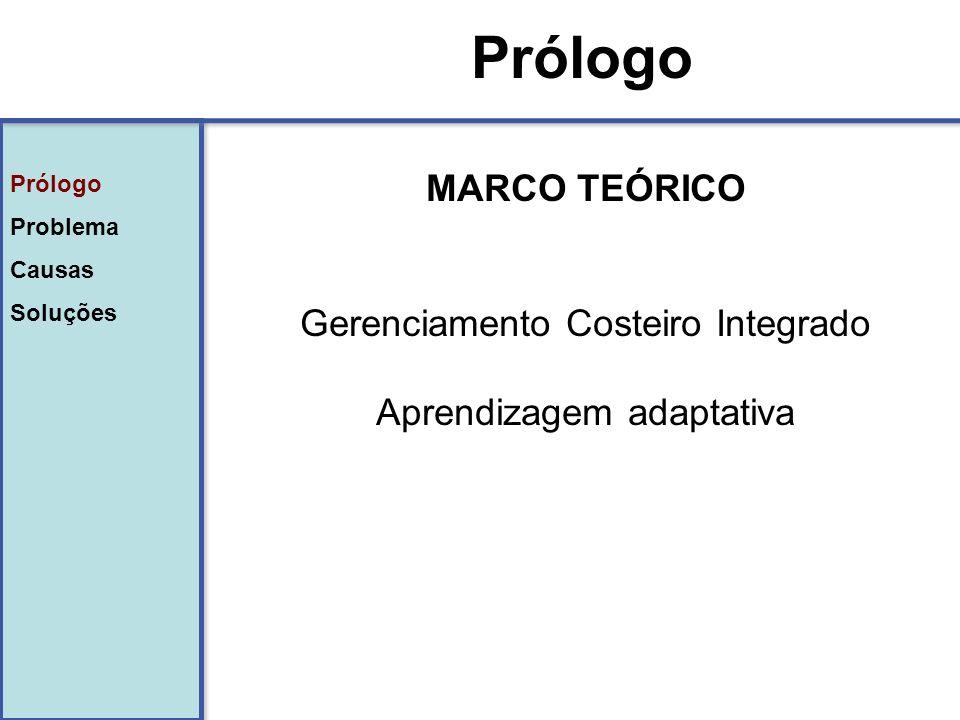 Prólogo MARCO TEÓRICO Gerenciamento Costeiro Integrado