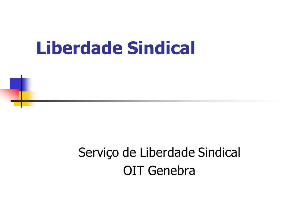 Serviço de Liberdade Sindical OIT Genebra