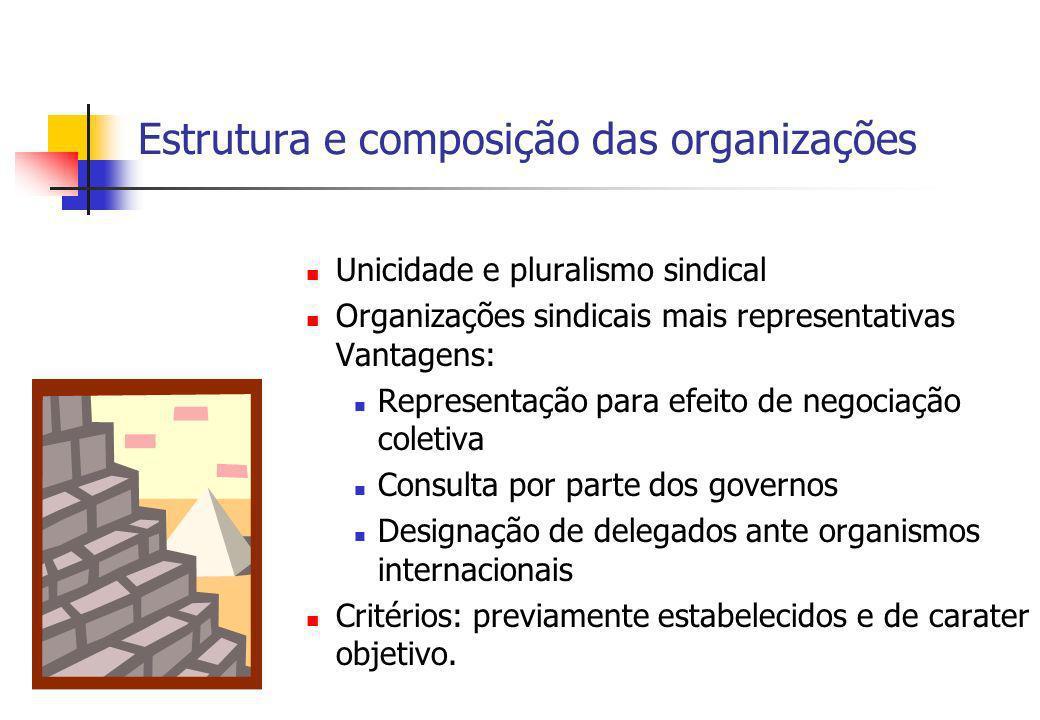 Estrutura e composição das organizações