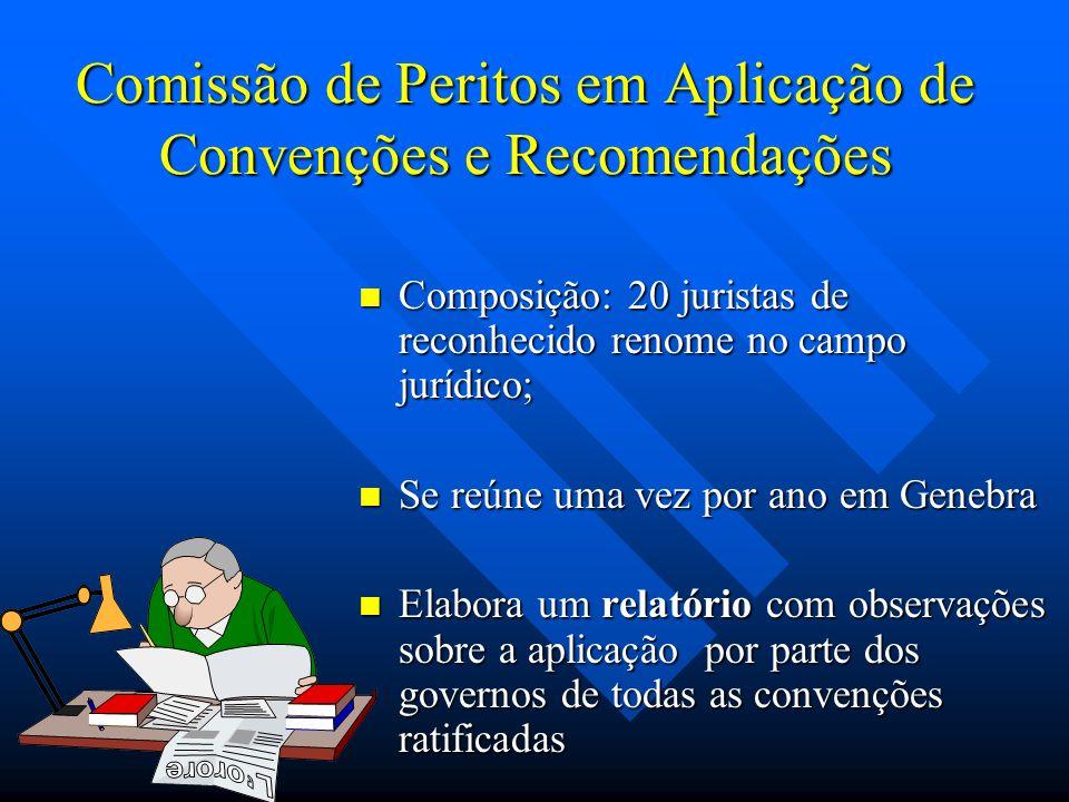 Comissão de Peritos em Aplicação de Convenções e Recomendações