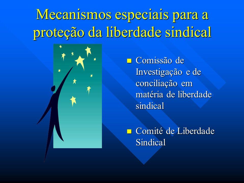 Mecanismos especiais para a proteção da liberdade sindical