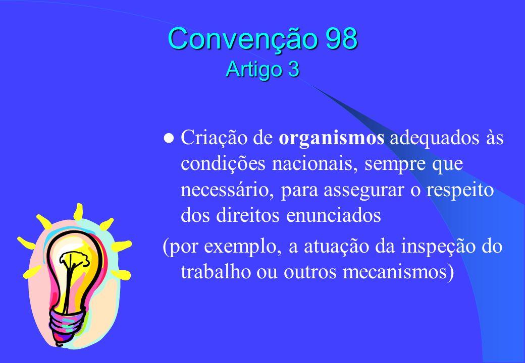 Convenção 98 Artigo 3