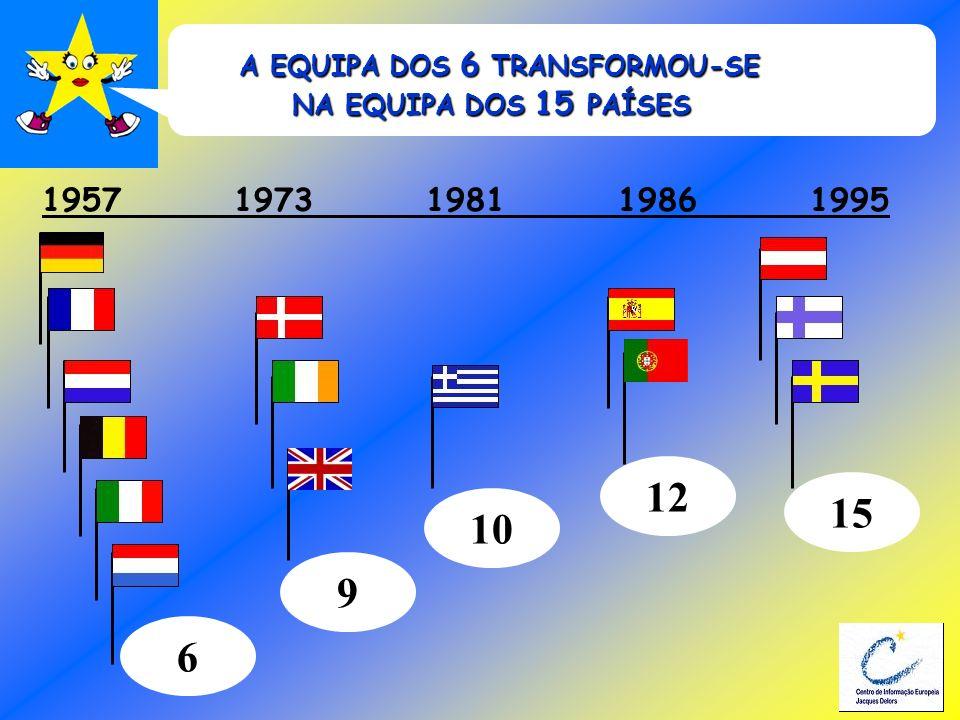 A EQUIPA DOS 6 TRANSFORMOU-SE