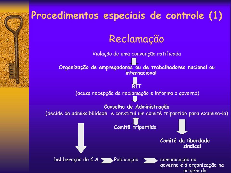 Procedimentos especiais de controle (1)
