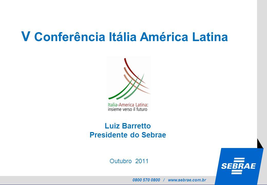 V Conferência Itália América Latina