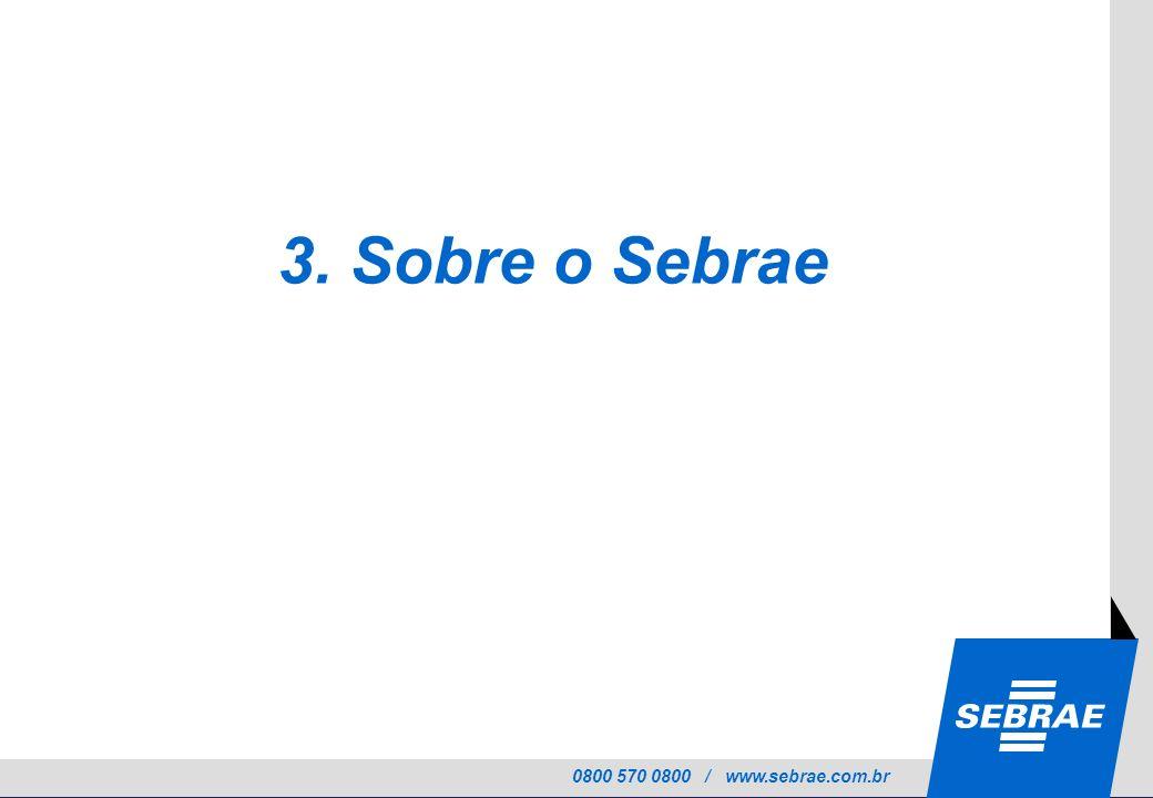 3. Sobre o Sebrae