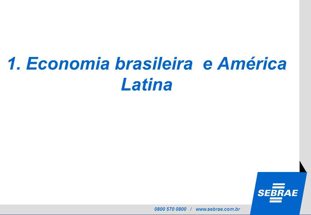 1. Economia brasileira e América Latina