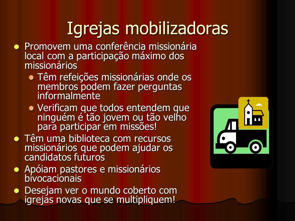 Igrejas mobilizadoras