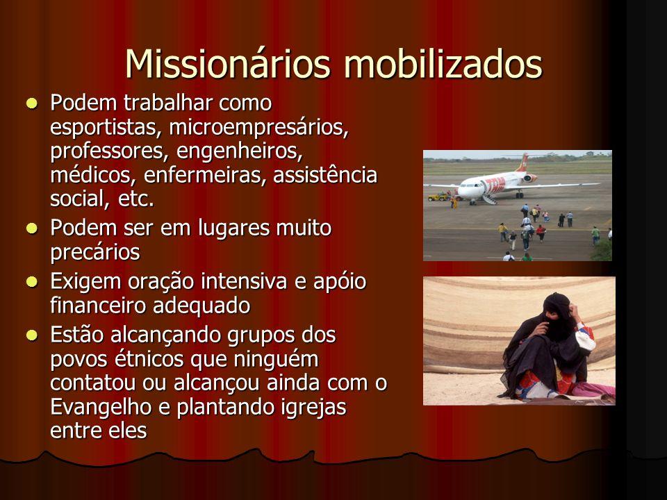 Missionários mobilizados