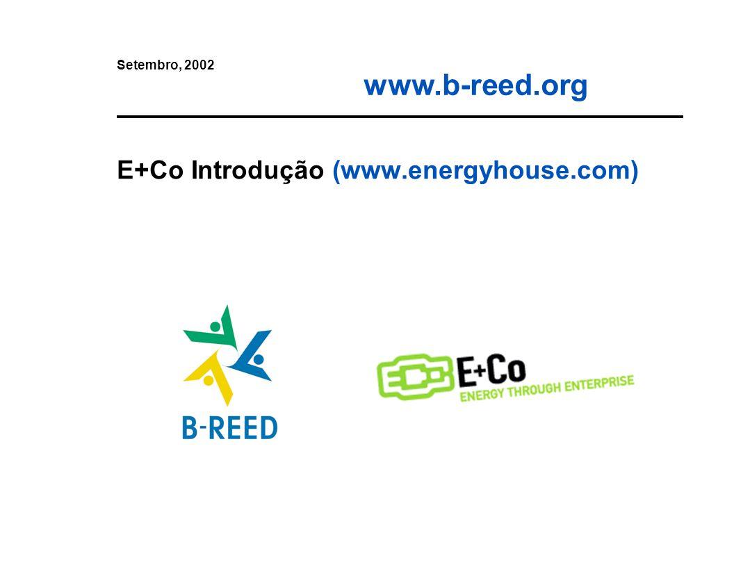 E+Co Introdução (www.energyhouse.com)