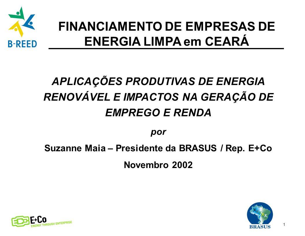 FINANCIAMENTO DE EMPRESAS DE ENERGIA LIMPA em CEARÁ