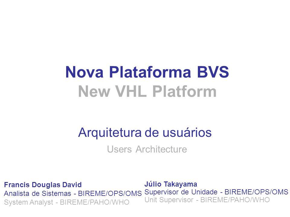 Nova Plataforma BVS New VHL Platform