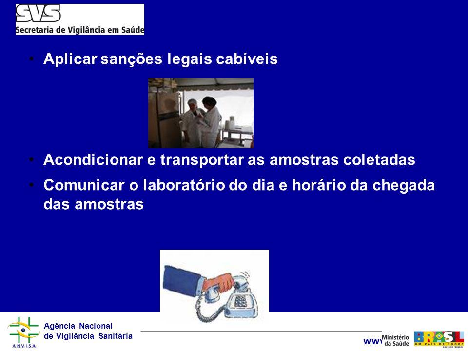 Aplicar sanções legais cabíveis