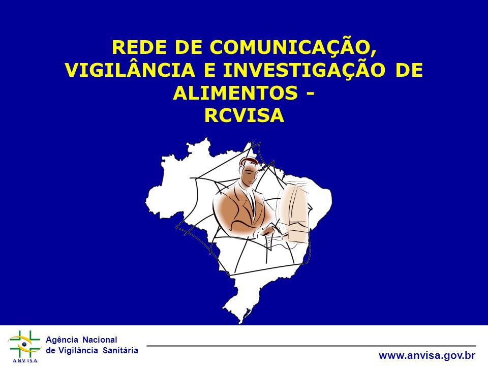 REDE DE COMUNICAÇÃO, VIGILÂNCIA E INVESTIGAÇÃO DE ALIMENTOS - RCVISA