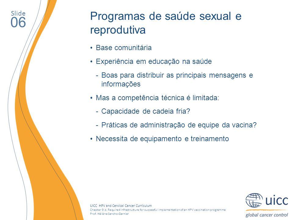 06 Programas de saúde sexual e reprodutiva Slide Base comunitária