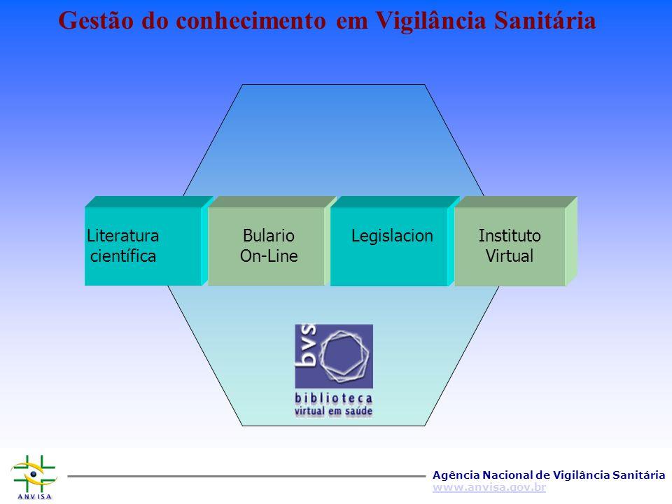 Gestão do conhecimento em Vigilância Sanitária
