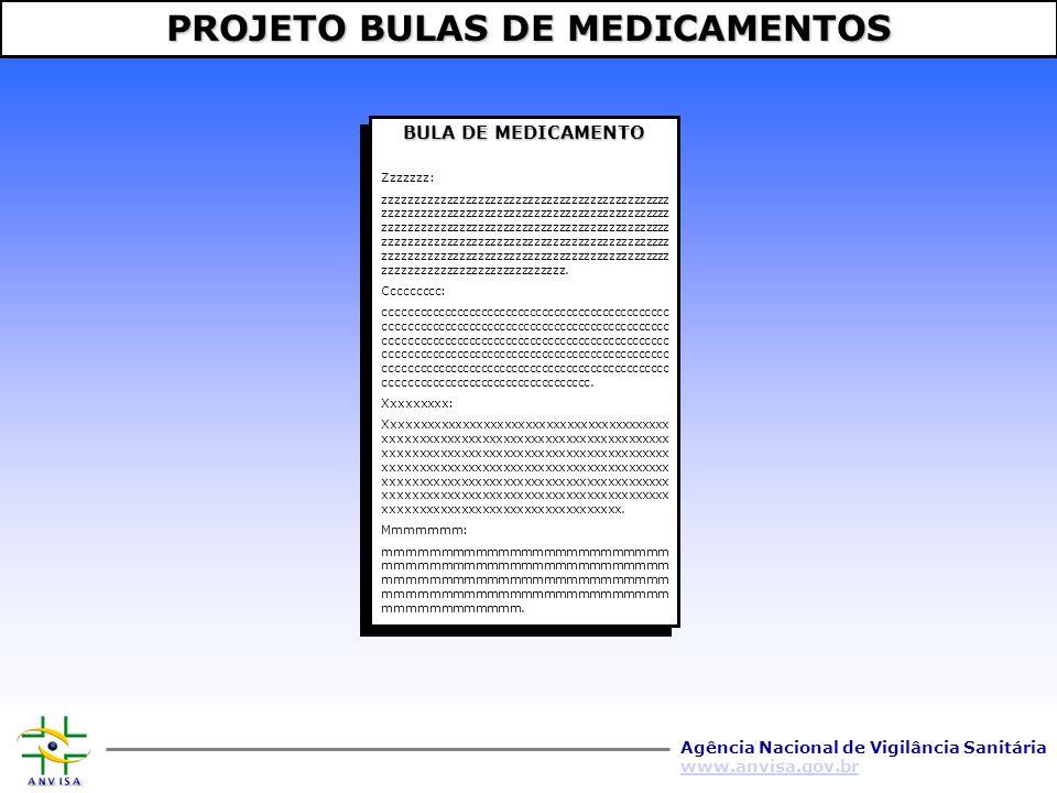 PROJETO BULAS DE MEDICAMENTOS