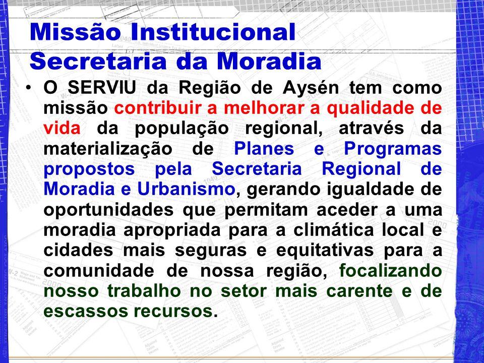 Missão Institucional Secretaria da Moradia