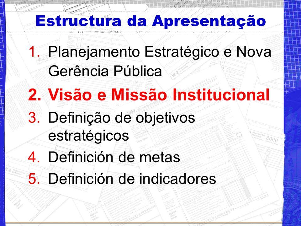 Estructura da Apresentação