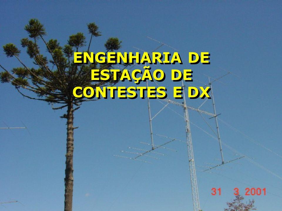 ENGENHARIA DE ESTAÇÃO DE CONTESTES E DX