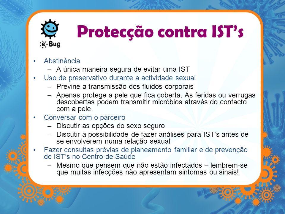 Protecção contra IST's