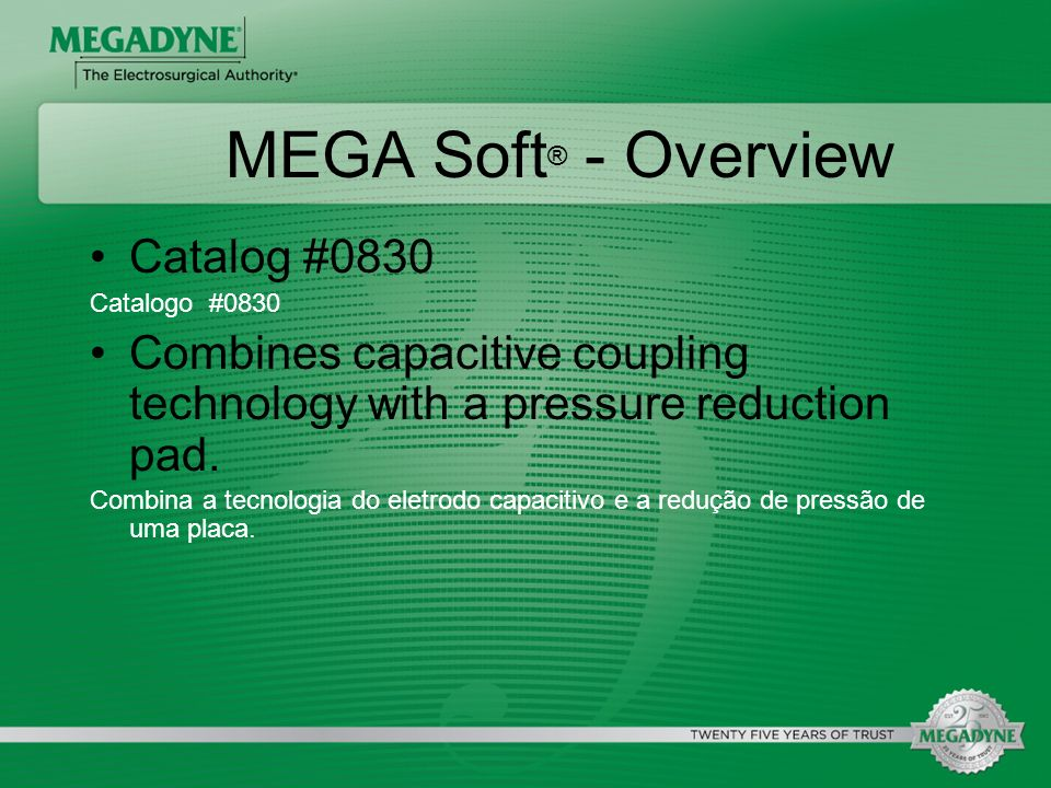 MEGA Soft® - Overview Catalog #0830