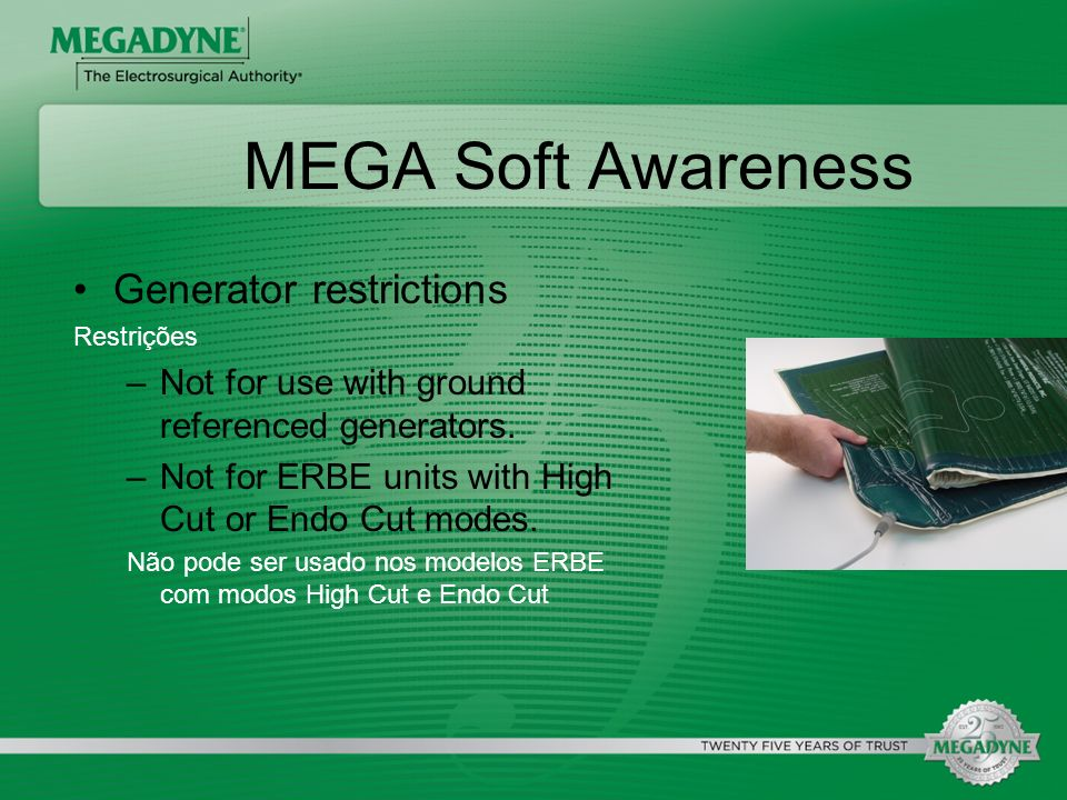 MEGA Soft Awareness Generator restrictions