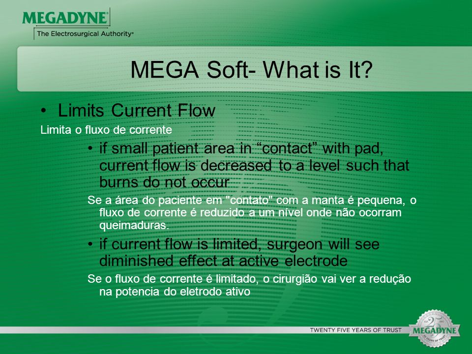 MEGA Soft- What is It Limits Current Flow