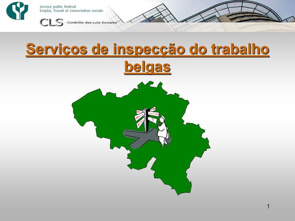 Serviços de inspecção do trabalho belgas