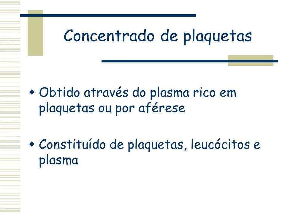 Concentrado de plaquetas