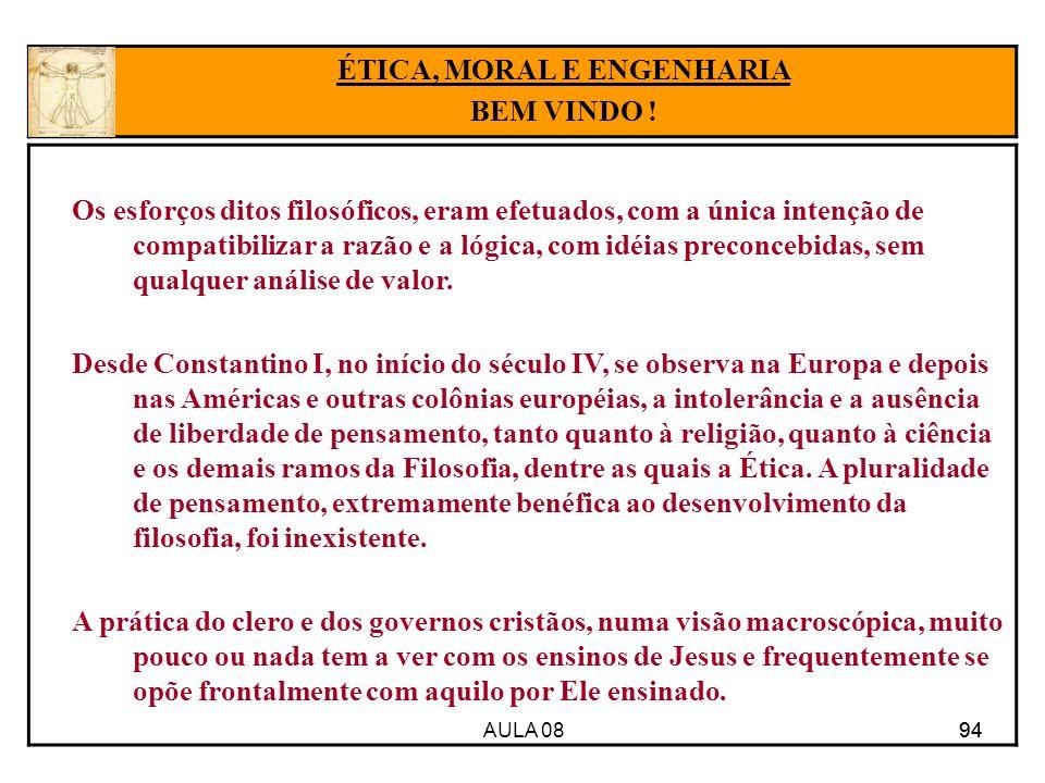 ÉTICA, MORAL E ENGENHARIA