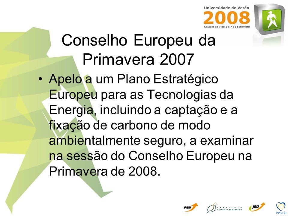 Conselho Europeu da Primavera 2007