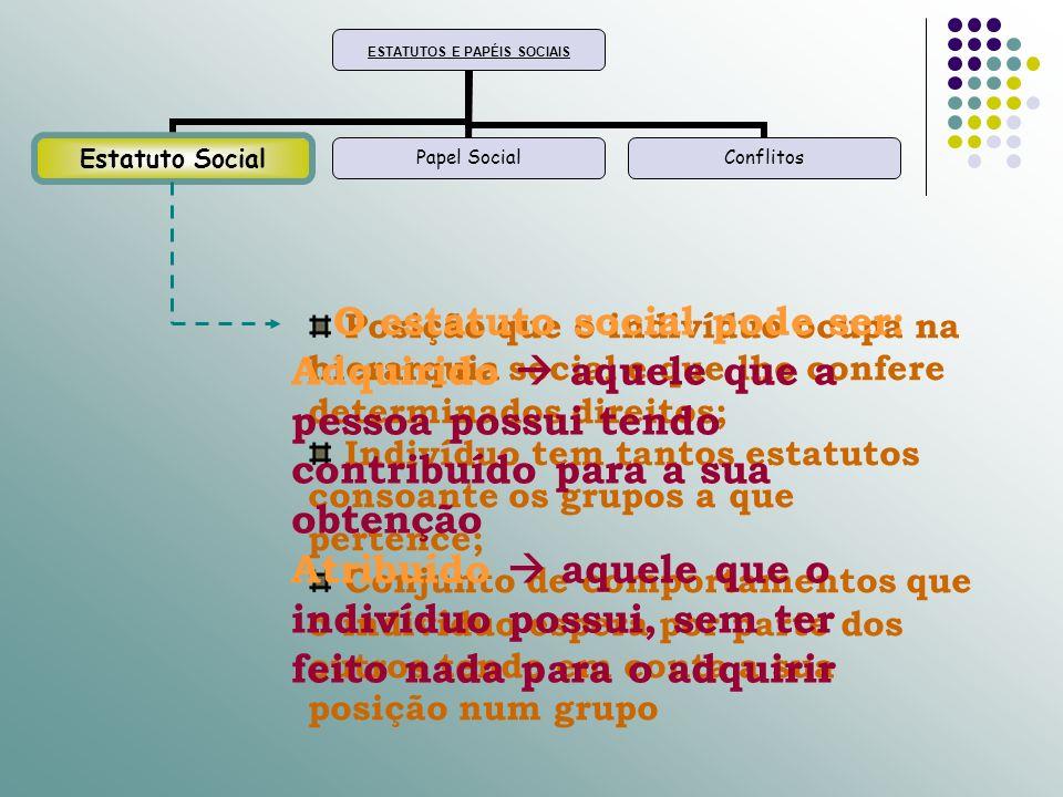 O estatuto social pode ser: