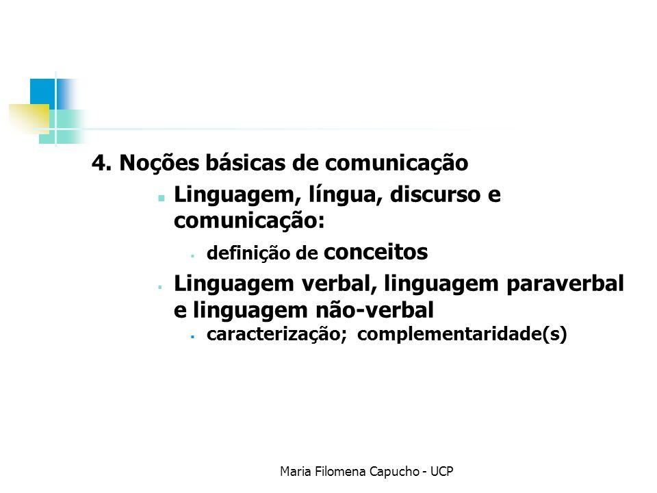 Maria Filomena Capucho - UCP