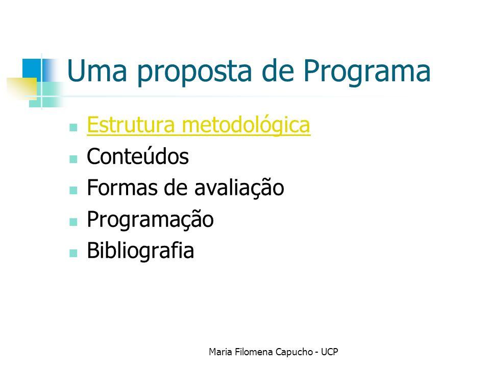 Uma proposta de Programa