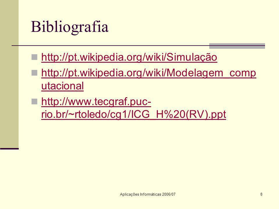 Aplicações Informáticas 2006/07