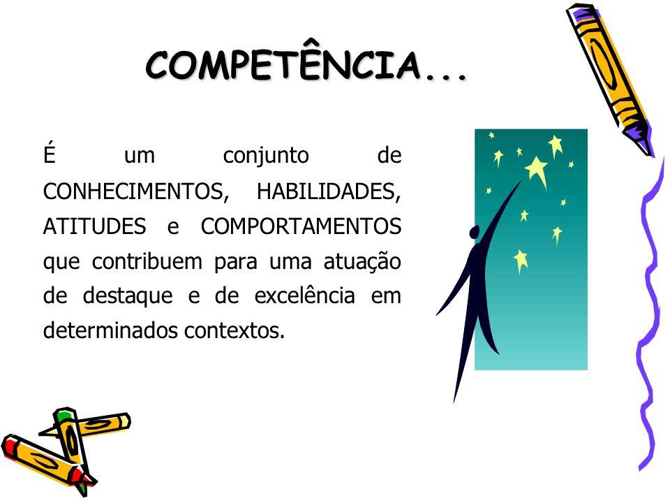 COMPETÊNCIA...