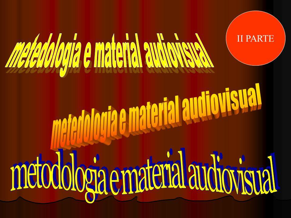 metedologia e material audiovisual