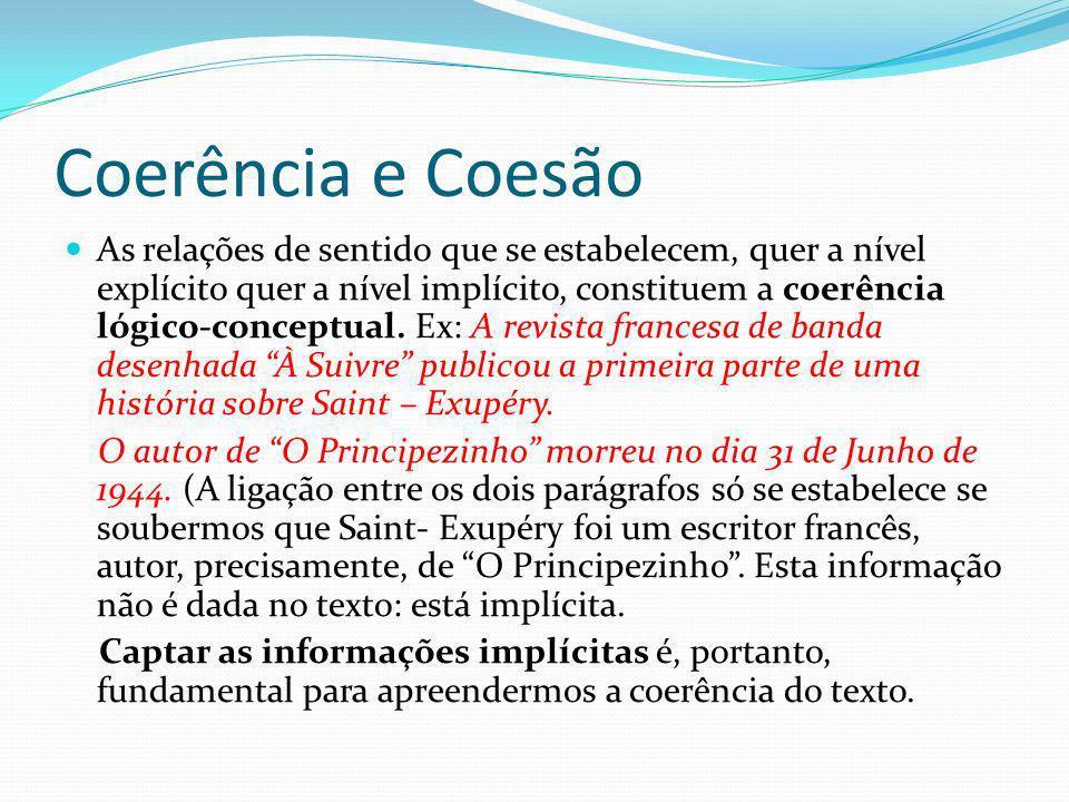 Coerência e Coesão