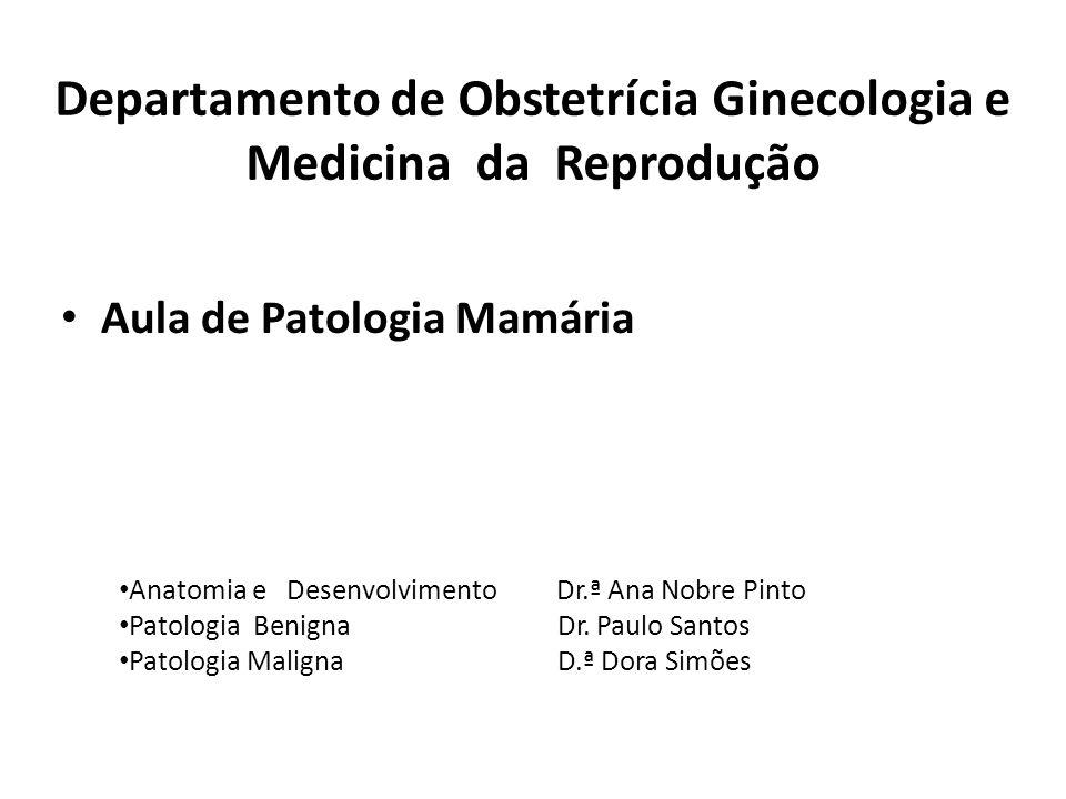 Departamento de Obstetrícia Ginecologia e Medicina da Reprodução