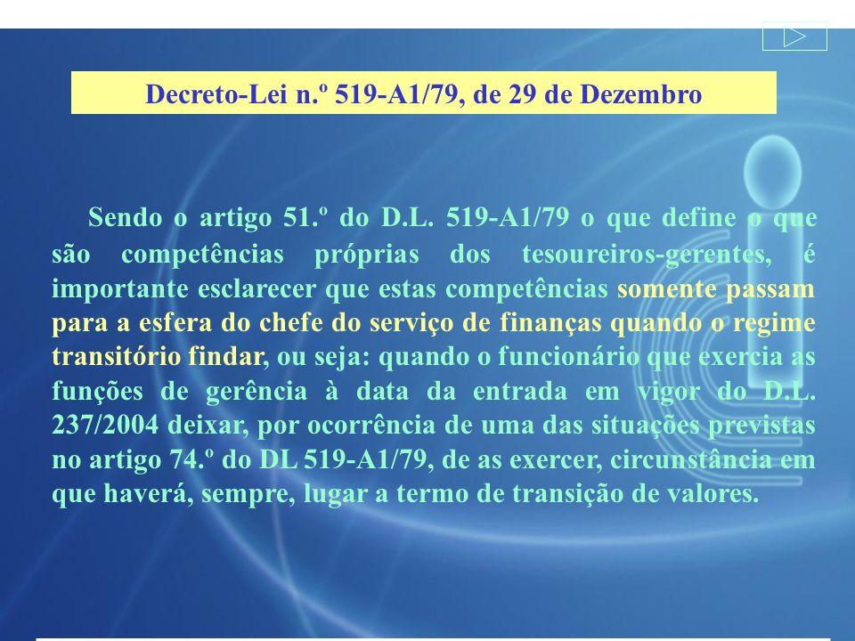 Decreto-Lei n.º 519-A1/79, de 29 de Dezembro