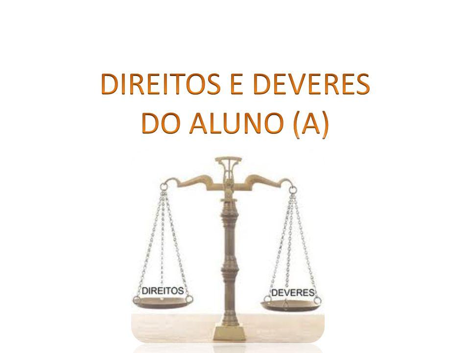 DIREITOS E DEVERES DO ALUNO (A)